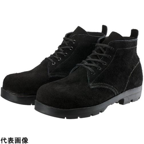 シモン 耐熱安全編上靴HI22黒床耐熱 25.5cm [HI22BKT-255] HI22BKT255 販売単位:1 送料無料