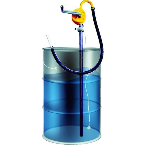 アクアシステム ガソリン専用手廻しドラムポンプ (アース付) [HR-25G] HR25G 販売単位:1 送料無料