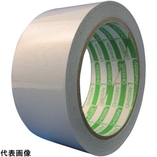 日東エルマテ 再帰反射テープ 400mmX10m ホワイト [HT-400W] HT400W 販売単位:1 送料無料