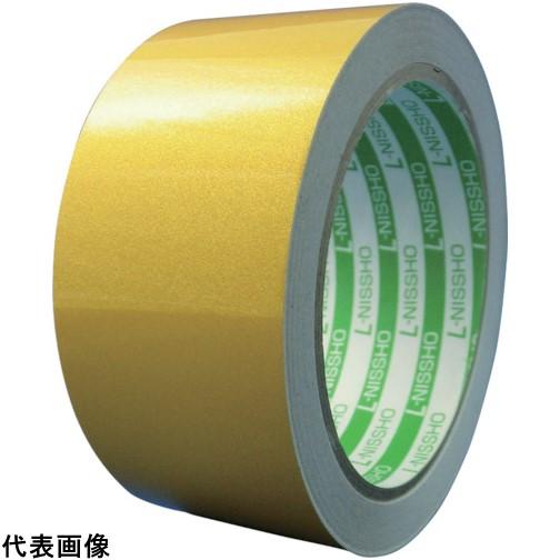 日東エルマテ 再帰反射テープ 400mmX10m イエロー [HT-400Y] HT400Y 販売単位:1 送料無料
