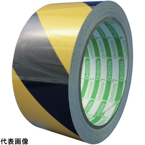 日東エルマテ 再帰反射テープ 400mmX10m イエロー/ブラック [HT-400YB] HT400YB 販売単位:1 送料無料