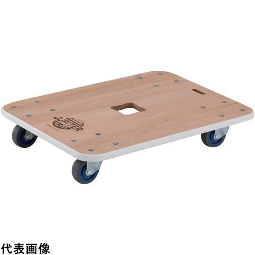 TRUSCO トラスコ中山 木製平台車 ジュピター 450X450 φ75 200kg [JUP-4545-200] JUP4545200 販売単位:1 送料無料