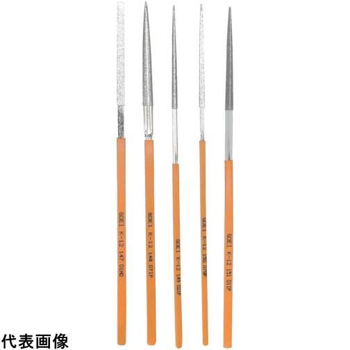 呉英 DIAヤスリ K-12 5種類セット [K-12-SET] K12SET 販売単位:1 送料無料