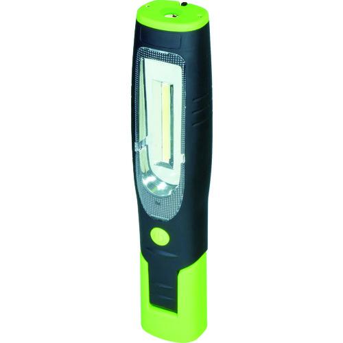 日動 充電式LEDハンディーライト スポット1.5W+ワイド3W [LEH-1P1P-CH] LEH1P1PCH 販売単位:1 送料無料