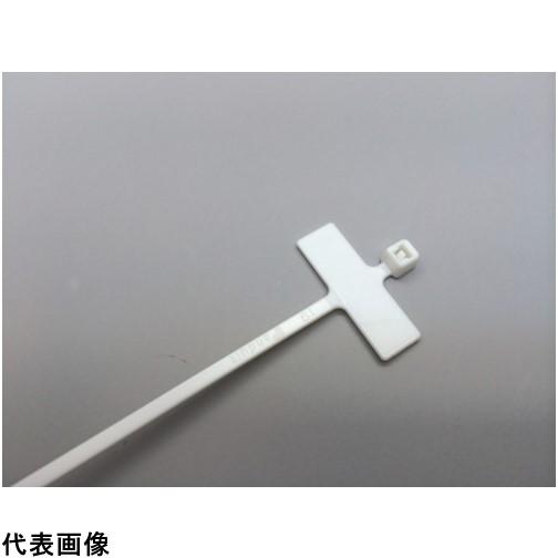 パンドウイット 旗型タイプナイロン結束バンド 難燃性白 (1000本入) [PLM1M-M69] PLM1MM69 販売単位:1 送料無料