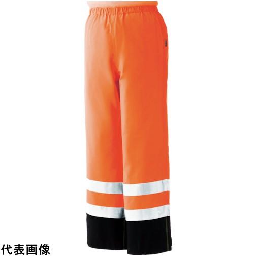 ミドリ安全 雨衣 レインベルデN 高視認仕様 下衣 蛍光オレンジ L [RAINVERDE-N-SITA-OR-L] RAINVERDENSITAORL 販売単位:1 送料無料