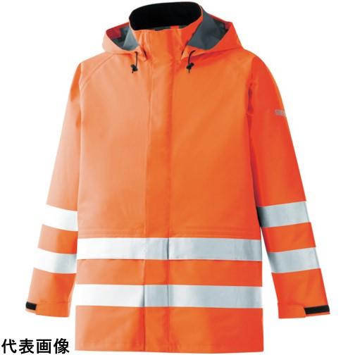 ミドリ安全 雨衣 レインベルデN 高視認仕様 上衣 蛍光オレンジ LL [RAINVERDE-N-UE-OR-LL] RAINVERDENUEORLL 販売単位:1 送料無料