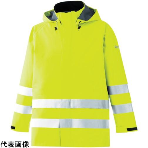 ミドリ安全 雨衣 レインベルデN 高視認仕様 上衣 蛍光イエロー L [RAINVERDE-N-UE-Y-L] RAINVERDENUEYL 販売単位:1 送料無料