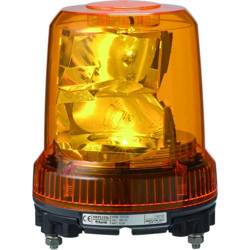 パトライト 強耐振型LED回転灯 [RLR-M2-Y] RLRM2Y 販売単位:1 送料無料