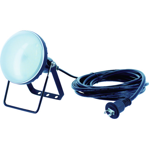 TRUSCO トラスコ中山 LED投光器 DELKURO 20W 5m [RTLE-205] RTLE205 販売単位:1 送料無料