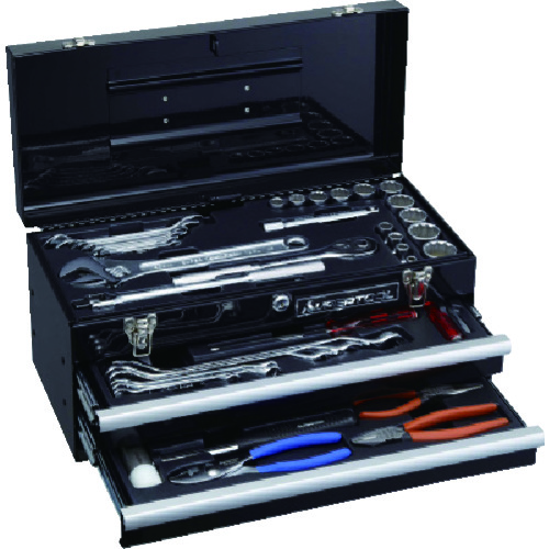 スーパー  プロ用デラックス工具セット(2段引き出し) [S7000DS] S7000DS 販売単位:1 送料無料