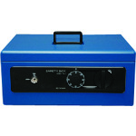 IRIS 558234 手提げ金庫 SBX-A4 ブルー [SBX-A4-BL] SBXA4BL 販売単位:1 送料無料