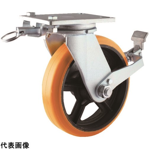 ヨドノ 重量用高硬度ウレタン自在車250φストッパー 販売単位:1・旋回ロック付 [SDUJ250STTL] 送料無料 SDUJ250STTL 販売単位:1 ヨドノ 送料無料, タラマソン:383e5a20 --- sunward.msk.ru