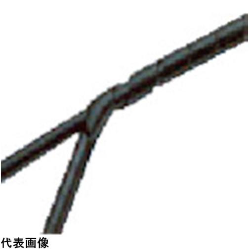 パンドウイット スパイラルラッピング ポリエチレン 耐候性黒 [T75F-C0] T75FC0 販売単位:1 送料無料