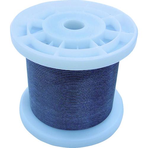 ニッサチェイン 透明コーティングワイヤロープ 1.2mm×100m [TSY12V-CLR] TSY12VCLR 販売単位:1 送料無料