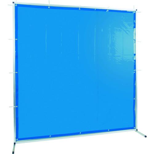 TRUSCO トラスコ中山 溶接用遮光フェンス アルミ製 W2000XH2000 ブルー [TYAF-2020-B] TYAF2020B 販売単位:1 送料無料