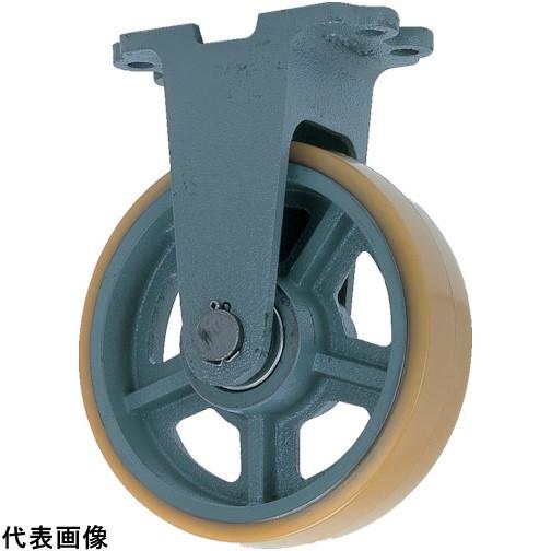 ヨドノ 鋳物重荷重用ウレタン車輪固定車付き UHBーk250X75 [UHB-K250X75] UHBK250X75 販売単位:1 送料無料