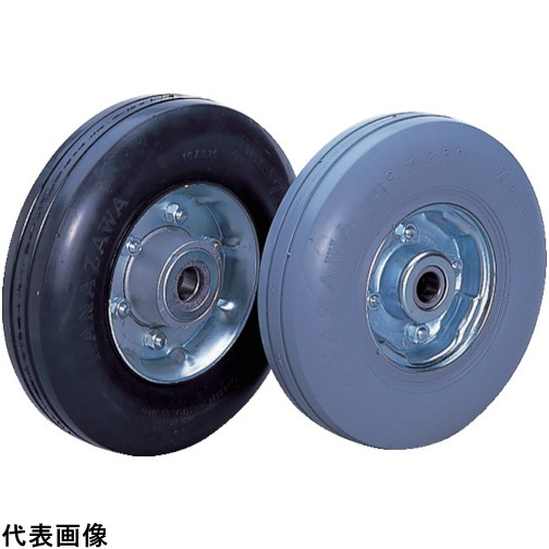 カナツー ゼロプレッシャータイヤ 車輪 ハブ付 [ZP10X2.75HS-GY] ZP10X2.75HSGY 販売単位:1 送料無料