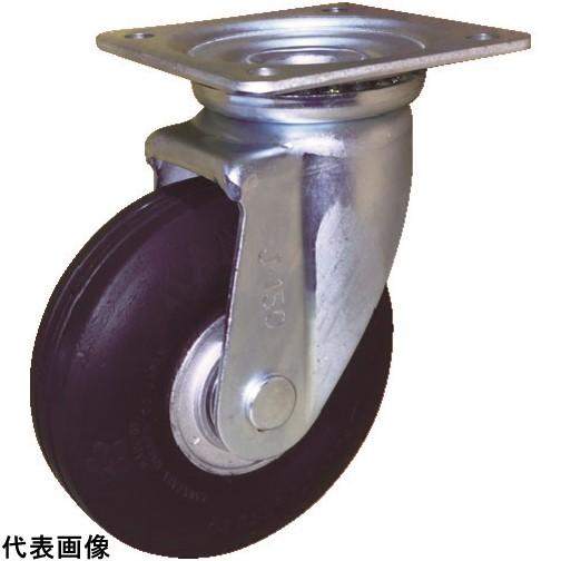 カナツー ゼロプレッシャータイヤ 自在金具付 荷重83.3 [ZP-O 6X2.00HS-GY] ZPO6X2.00HSGY 販売単位:1 送料無料