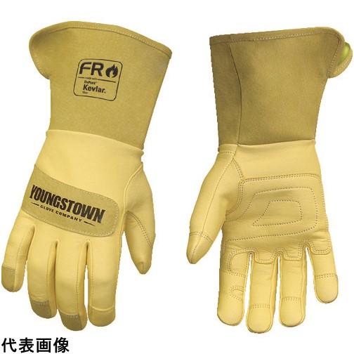 YOUNGST 革手袋 FRレザー ケブラー ワイドカフ [12-3275-60-S] 12327560S           販売単位:1 送料無料