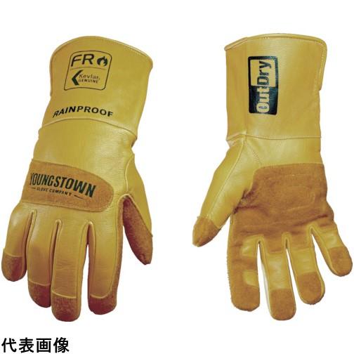 YOUNGST 革手袋 FRレイングローブ アウトドライ [12-3495-60-M] 12349560M           販売単位:1 送料無料