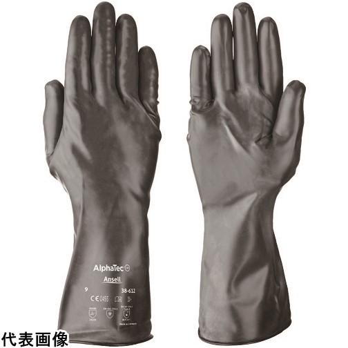 アンセル 耐薬品手袋 アルファテック 38-612 XLサイズ [38-612-10] 3861210 販売単位:1 送料無料