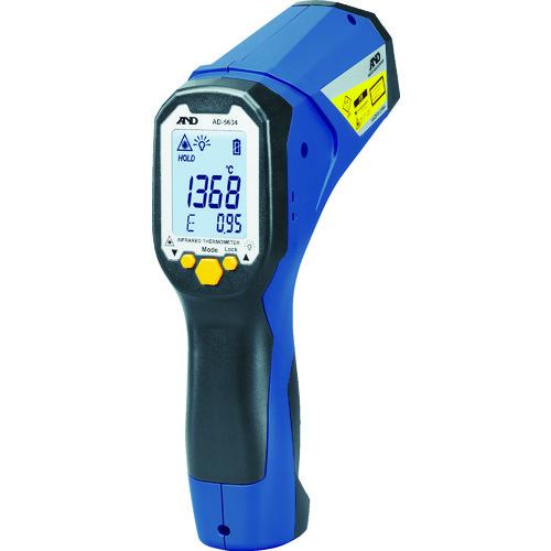 A&D レーザーマーカー付き赤外線放射温度計 AD-5634 [AD-5634] AD5634       販売単位:1 送料無料