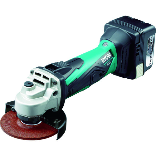 リョービ 充電式ディスクグラインダ 14.4V [BG-1410L5] BG1410L5            販売単位:1 送料無料