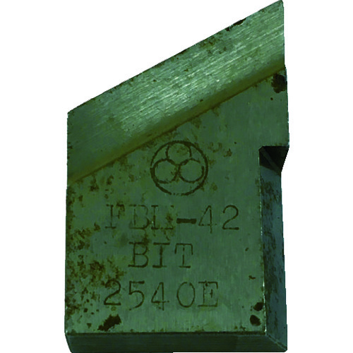 不二 開先加工機用標準刃物 FBM-80A用外面開先用ビット [BIT-042E02] BIT042E02      販売単位:1 送料無料