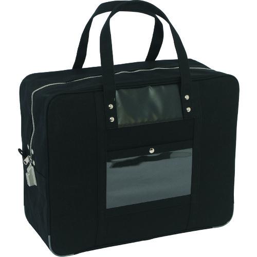 SANEI 帆布メール用ボストン(LL)SED-1錠付 黒 [BTLL-SED-01] BTLLSED01           販売単位:1 送料無料