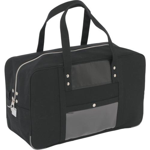SANEI 帆布メール用ボストン(L)馬蹄錠金具付 黒 [BTL-U-01] BTLU01       販売単位:1 送料無料