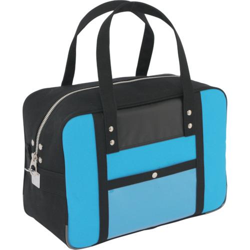 SANEI 帆布メール用ボストン(M)馬蹄錠金具付 ブルー [BTM-U-09] BTMU09       販売単位:1 送料無料