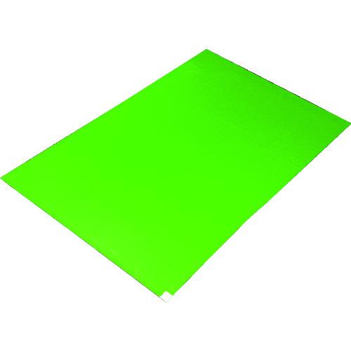 TRUSCO トラスコ中山 粘着クリーンマット 450X900MM グリーン (10シート) [CM459010-GN] CM459010GN           販売単位:1 送料無料