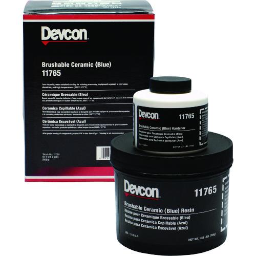 デブコン 耐蝕・耐摩耗補修剤 ブラッシャブルセラミック青 2lb [DV11765] DV11765 販売単位:1 送料無料