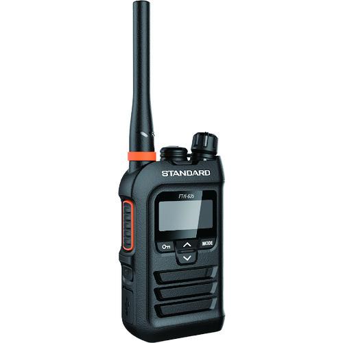 スタンダード 特定小電力トランシーバー ブラック [FTH-635] FTH635       販売単位:1 送料無料