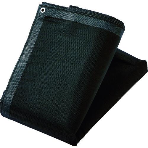 TRUSCO トラスコ中山 ソフトメッシュシートα 幅3.6mX長さ5.4m ブラック [GM-3654A-BK] GM3654ABK      販売単位:1 送料無料