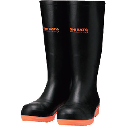 SHIBATA 安全耐油長靴(ヨーロッパモデル) [IE020-29.0] IE02029.0           販売単位:1 送料無料