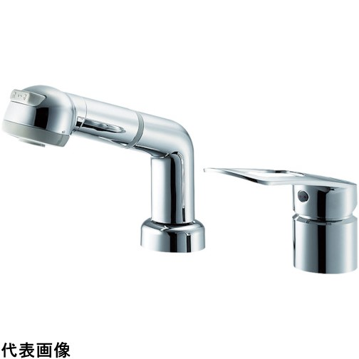 SANEI シングルスプレー混合栓(洗髪用) [K3761EJK-C-13] K3761EJKC13          販売単位:1 送料無料
