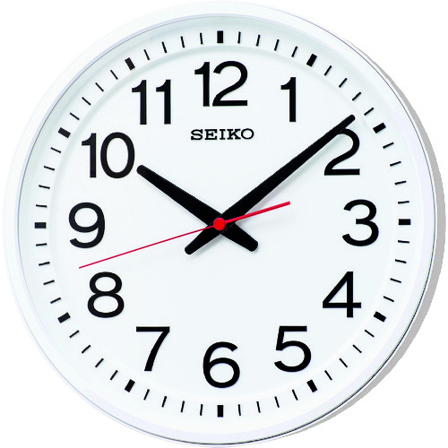 SEIKO 「教室の時計」電波掛時計 [KX236W] KX236W             販売単位:1 送料無料