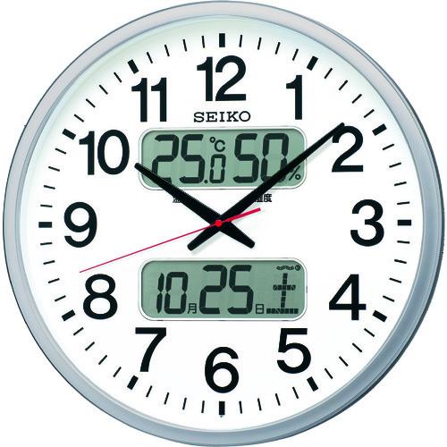 SEIKO 大型電波掛時計 [KX237S] KX237S             販売単位:1 送料無料