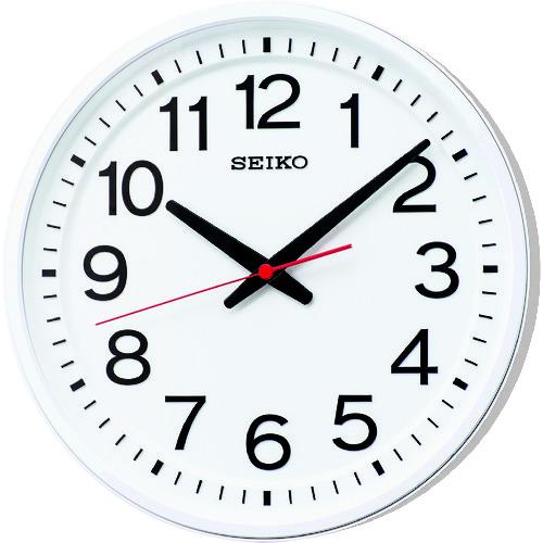 SEIKO 「教室の時計」クオーツ時計 [KX623W] KX623W             販売単位:1 送料無料