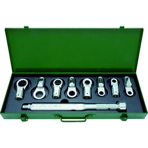 ASH トルクレンチめがねヘッドセット LC090N+12-27mm [LCR3000] LCR3000 販売単位:1 送料無料