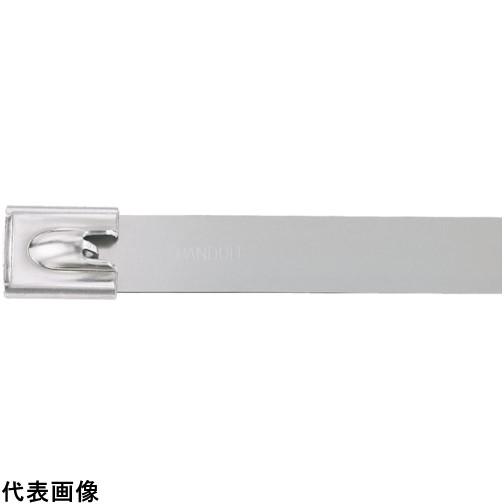 パンドウイット MLTタイプ 自動ロック式ステンレススチールバンド SUS304 幅12.7mm 長さ594mm 50本入り MLT6EH15-LP [MLT6EH15-LP] MLT6EH15LP 販売単位:1 送料無料