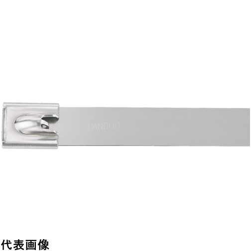 パンドウイット MLTタイプ 自動ロック式ステンレススチールバンド SUS304 幅12.7mm 長さ754mm 50本入り MLT8EH15-LP [MLT8EH15-LP] MLT8EH15LP 販売単位:1 送料無料