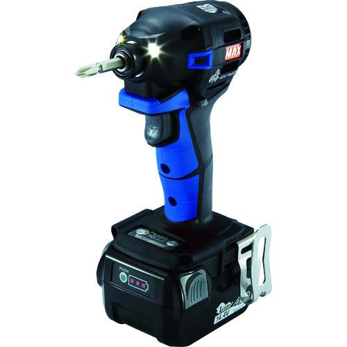 MAX 14.4V充電インパクトドライバセット(アオ) [PJ-ID152B-B2C/1440A] PJID152BB2C1440A        販売単位:1 送料無料