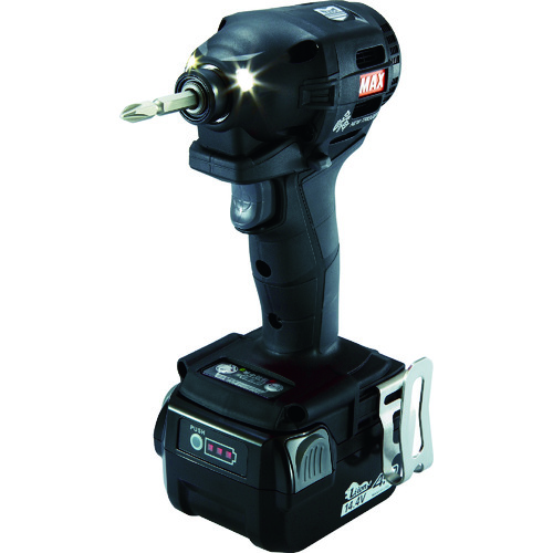 MAX 14.4V充電インパクトドライバセット(クロ) [PJ-ID152K-B2C/1440A] PJID152KB2C1440A        販売単位:1 送料無料