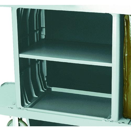 ラバーメイド ハウスキーピングカート用中棚キット プラチナ [RM6195PT] RM6195PT 販売単位:1 送料無料