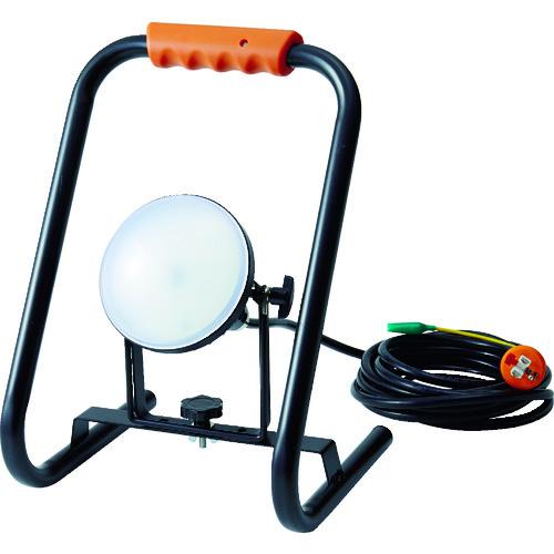 TRUSCO トラスコ中山 LED投光器 DELKURO スタンドタイプ 20W 5m アース付 2芯3芯両用タイプ [RTLE-205EP-S] RTLE205EPS           販売単位:1 送料無料