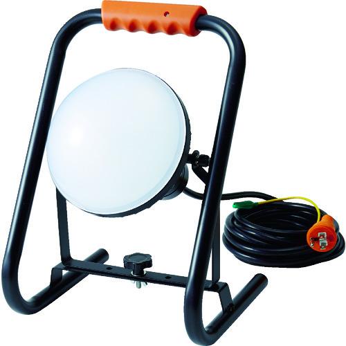 TRUSCO トラスコ中山 LED投光器 DELKURO スタンドタイプ 50W 10m アース付 2芯3芯両用タイプ [RTLE-510EP-S] RTLE510EPS      販売単位:1 送料無料