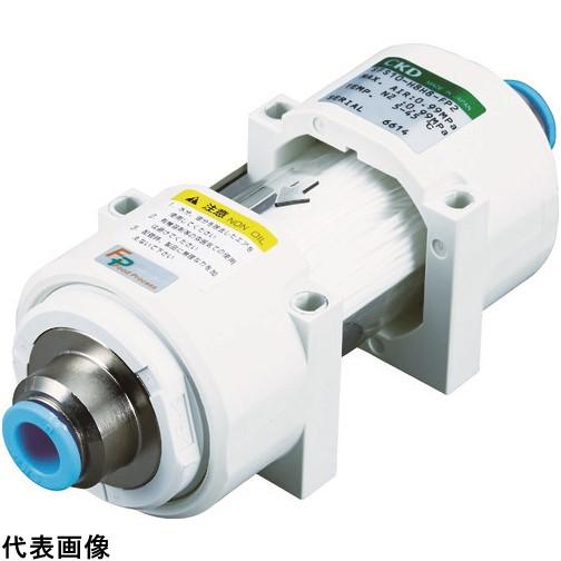 CKD 除菌フィルタ・インラインタイプΦ12チューブ継手付き [SFS10-H12H12-FP2] SFS10H12H12FP2         販売単位:1 送料無料